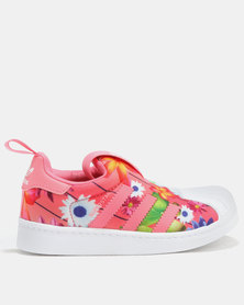 116c586adfc7 Pink adidas Originals Kid s   Baby Shoes Zando