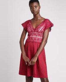 Larisa MODA Lisa Dress Red
