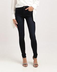 Sissy Boy Skinny Jeans Blue Black