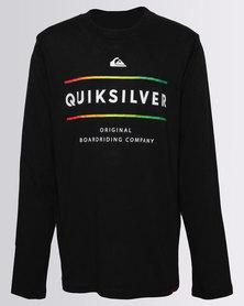Quiksilver Boys Reverso Surfo Long Sleeve T-Shirt