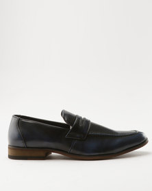 Utopia Formal Slip On Navy