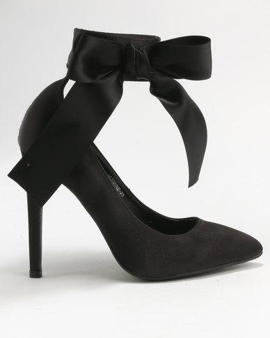 Utopia Utopia Pointy Court Shoes Black cheap sale latest amazon for sale sale the cheapest c5TjarLFcm