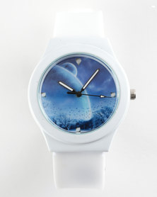You & I Planet Sport Watch White