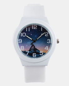 You & I Mountain Sport Watch White