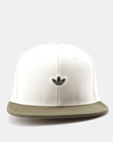 adidas 6 Panel Unstructured Cap Off White/Night Cargo
