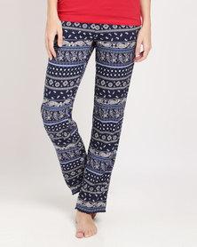 Women'secret Pyjama Pants Black