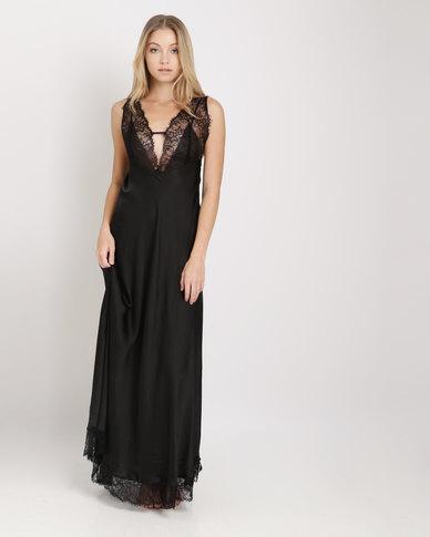 Women Secret Night Dress Black
