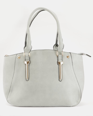 Blackcherry Bag Handbag Grey
