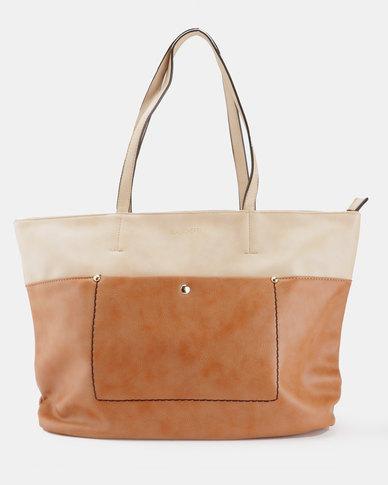 Blackcherry Bag Tote Bag Tan/Beige