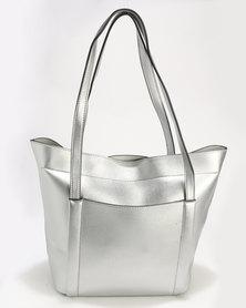 Blackcherry Bag Handbag Silver