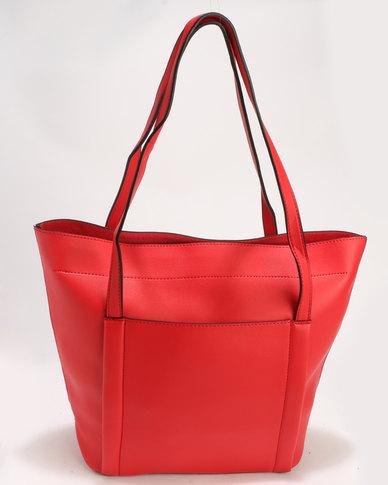 Blackcherry Bag Handbag Bright Red