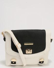 Blackcherry Bag Crossbody Bag White/Black