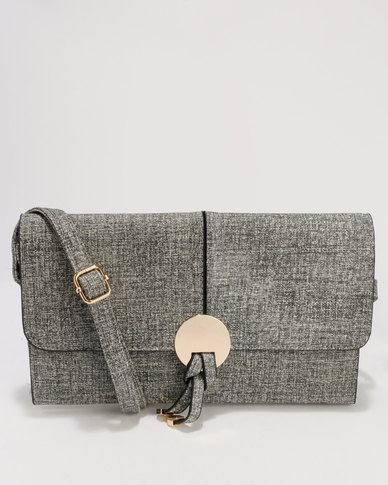 Blackcherry Bag Clutch Bag Grey