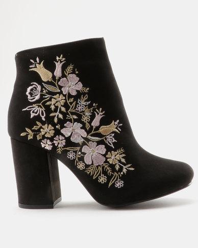 Madison Paisley Boot Black