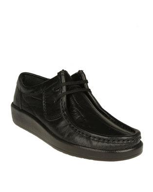 grasshoppers laceup casual shoes black  zando