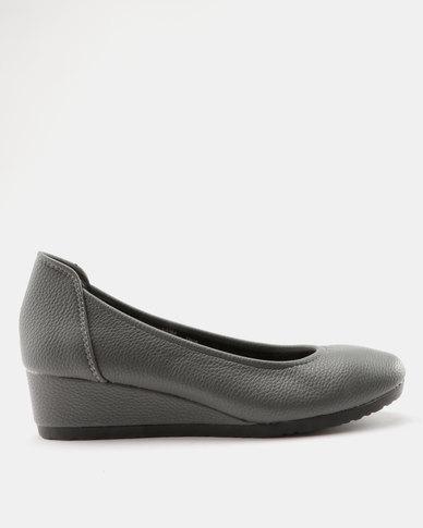 Butterfly Feet Butterfly Feet Laiba Wedge Grey outlet nicekicks ol3oZ