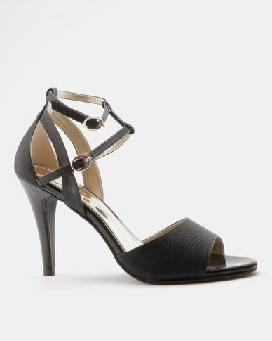 8e1718990ef Marie Claire Ladies High Heel Sandals Black
