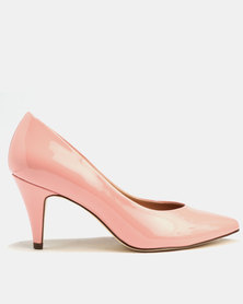 Call It Spring Unini Heels Peach