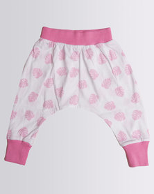 Kapas Baby Delicious Monster Harem Pants Pink