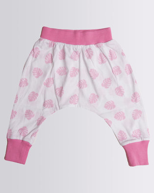 Kapas Baby Delicious Monster Harem Pants Pink Zando