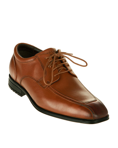 Rockport Fairwood Dress Shoes Tan