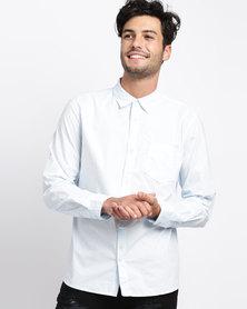 Bellfield Basic Shirt Pale Blue