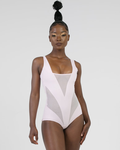 Thabooty's Pink Panther Shaper Bodysuit Pink