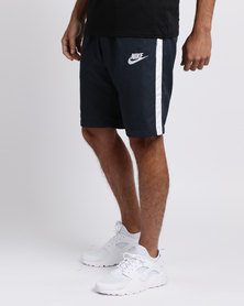 Nike Mens Nike Sportswear Woven Season Shorts Blue