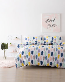 DISC Linen House Solace Duvet Cover Set Multi