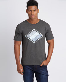 Rip Curl Groundswell Tee Charcoal Marle