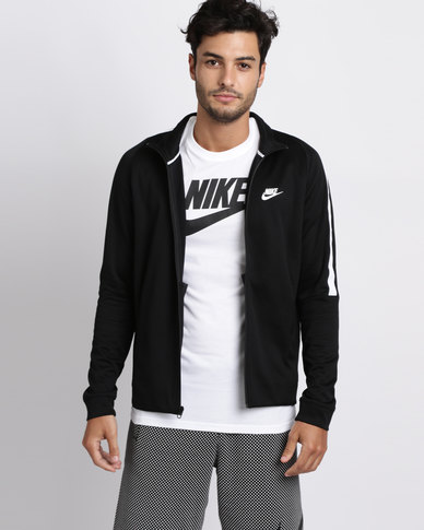 787c5ce0 Nike Mens Nike Sportswear N98 Tribute Jacket Black | Zando