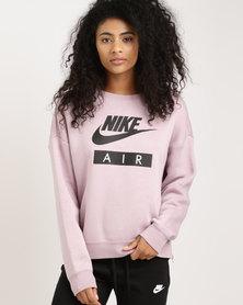 Nike Sportswear Women's Rally Air Crew Elemental Rose/Elemental Rose/Black