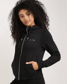 Nike Sportswear Women's Rally Hoodie Full Zip Air Black