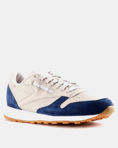 f05288be0a12 Reebok Classic Leather GI Sand Stone and Washed Blue