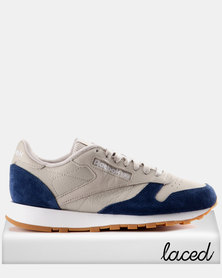 Reebok Classic Leather GI Sand Stone and Washed Blue