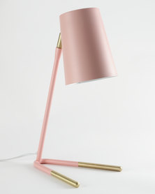 Illumina Dipped Studio Lamp Pink/Gold-tone
