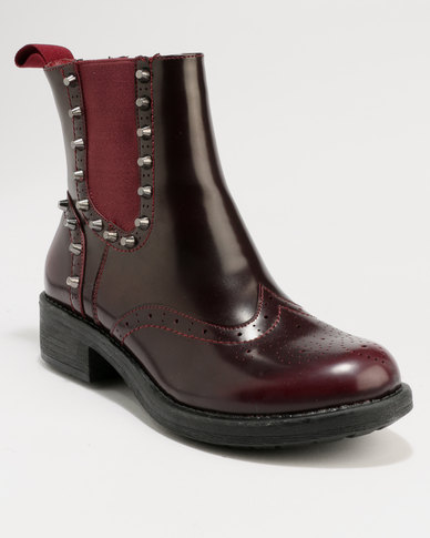 release dates outlet limited edition Footwork Footwork Carmela Ankle Boot Burgundy fast delivery sale online npgtPbY