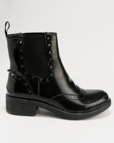 Footwork Carmela Ankle Boot Black