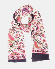 Joy Collectables Floral Scarf Multi