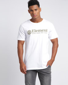 Element Level SS Tee White