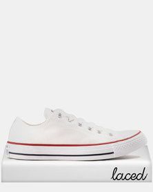 Converse Chuck Taylor All Star Lo Mens Optical White