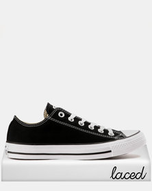 Converse All Star Lo Mens Black