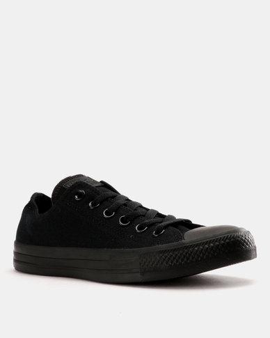 3416eeda86a4 Converse Chuck Taylor All Star Speciality Lo Mens Sneaker Black Monoch