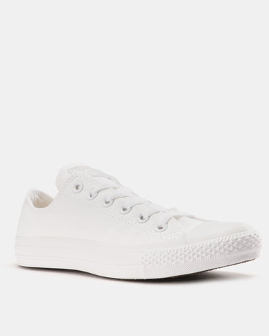 d39ec3d3c8a8 ... leather mono mens sneakers white b2b76 96eca  clearance converse chuck  taylor all star mono ox smu mens sneakers white mono d0e32 3a969