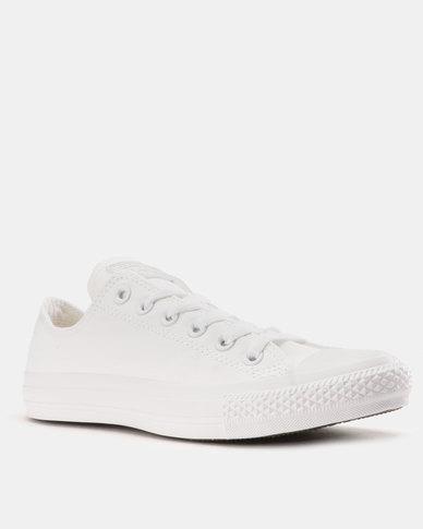 99c7b061bbca Converse Chuck Taylor All Star Mono Ox Smu Mens Sneakers White Mono ...