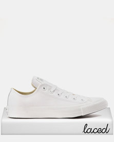 Converse Chuck Taylor All Star Ox Leather Mono Mens Sneakers White