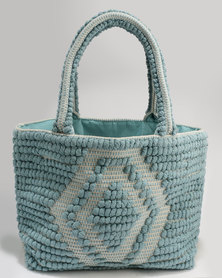 Queue Textile Carry All Bag Blue