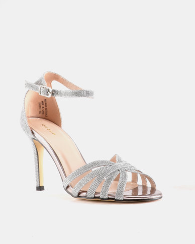 Queue Queue Closed Back Sandals Silver professional geniue stockist pick a best u4kapk28
