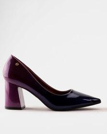 Dolce Vita Majorca Block Heel Court Purple