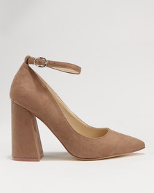 Zucca High Block Heels Brown Miss Black outlet 2014 official site online with paypal low price 3gGk0Exq